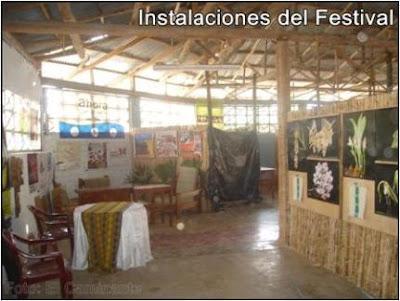 instalaciones del xiv festival de la orquidea 2009 (moyobamba, peru)