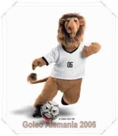goleo de alemania, mascota de mundial