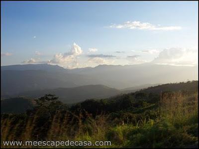 vista de valle de lamas, peru