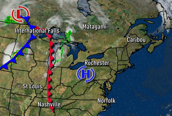 News 8 Weather Blog How Do You Label The Weather Map