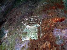 Petrogliph from Tainos...