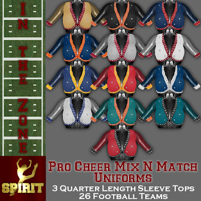 Huge New In the Zone Pro Cheer Uniform Collection Release!