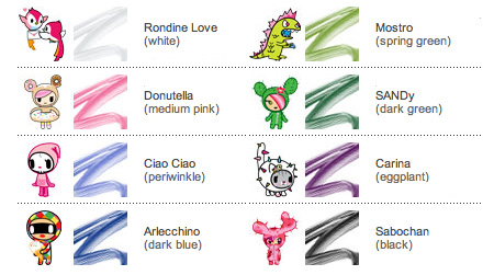 color ink book tokidoki special edition