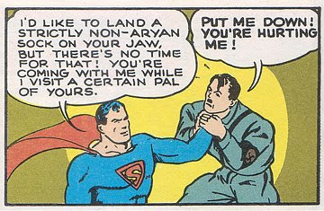 Resolved: Superman Will Punch Hitler. Taking the 'Con' position: Hitler