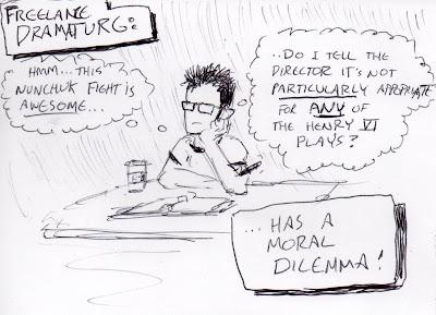 My fervent belief: Shakespeare is better with nunchuks.