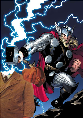 I command you to kneel before the...GOD OF THUNDER AND ROCK 'N' ROLL!