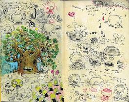 Sketches de algunos ilustradores