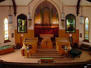 Inside St Marys Presbyterian