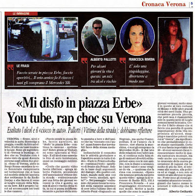 corriere verona is burning