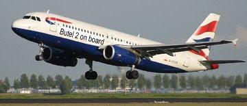 Butel2 vola British Airways: destinazione Londra