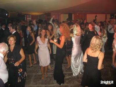 Festa all'Hotel Des Bains di Venezia