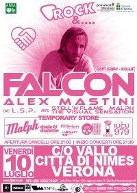 DJ Falcon live a Verona