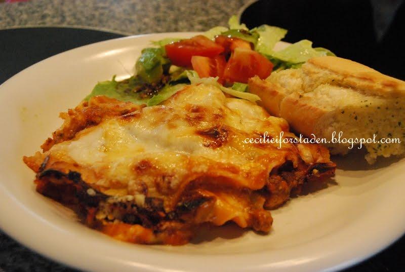store og busty lasagne