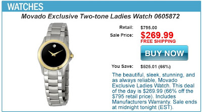 Military Exclusive Ladies Watch Deal