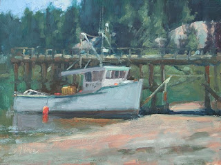 Plein Air Painter's Blog - Michael Chesley Johnson: Painting Rich