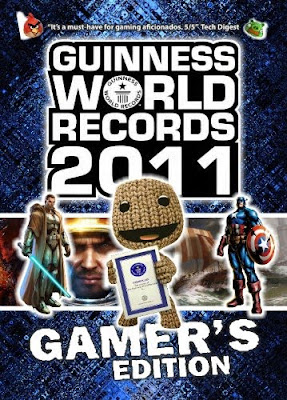 Libro de records guinness del mundo edición gamers