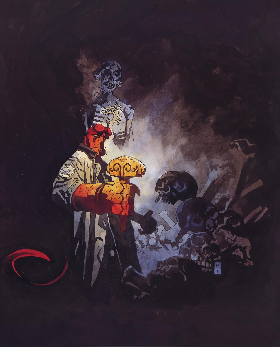 Hellboy Mike Mignola Space In Text