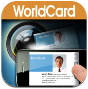 iPhone Apps Review Business Card reader organizer