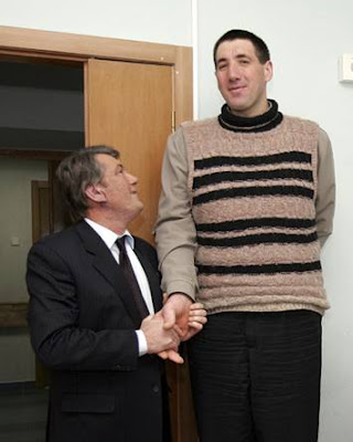 Tallest Man In the World-Ukrainian Leonid Stadnyk
