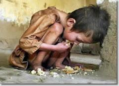 Fome não deve pensar!