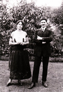 Photo of Jean Prouve and his wife Madeleine