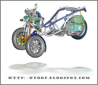Piaggio MP3 Three Wheels Bike