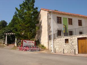 estación de alquiler de bicis en arnuero