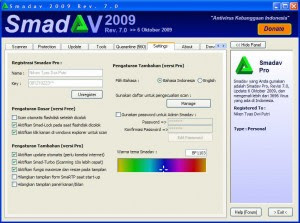 Free Download Smadav 2009 Rev. 7.3