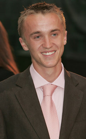 tom felton shirt off. Tom Felton#39;s hair color