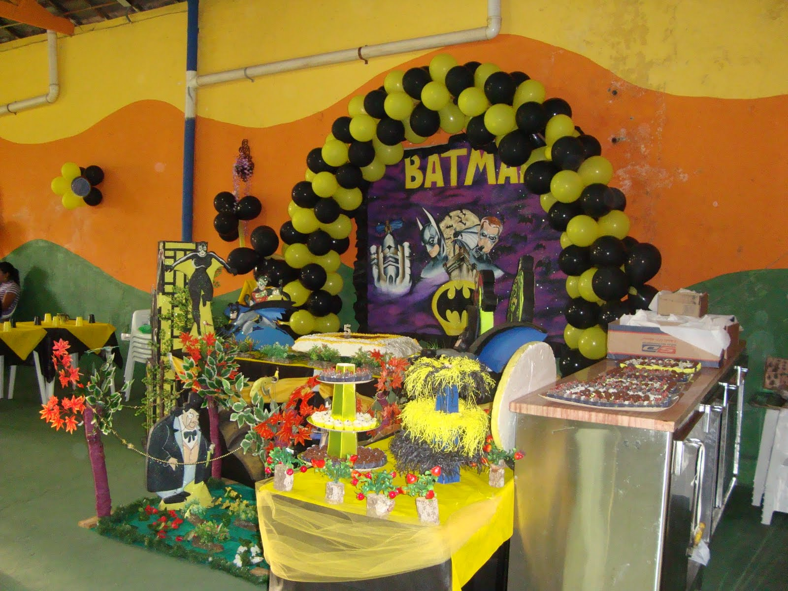 decoracao festa batman : decoracao festa batman:Decoracao Festa Do Batman