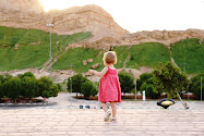 Eleanor at Jebel Hafeet