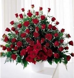 Gracias, por las rosas...rojas...