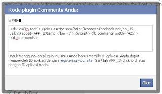 kode id komentar facebook