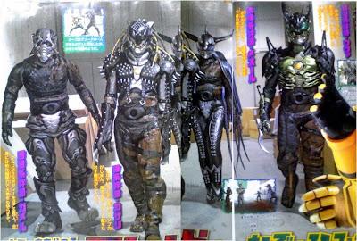 Greeds: Kamen Rider OOO's Villains