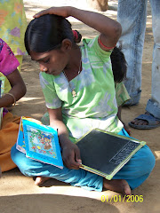 bajaniya girl in hut school