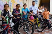 Entrega de bicicletas