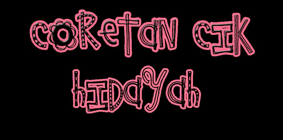 Ich Hidayah laaaa! ;D