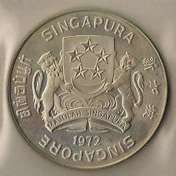 Singapore Coin Picture on Singapore Coin