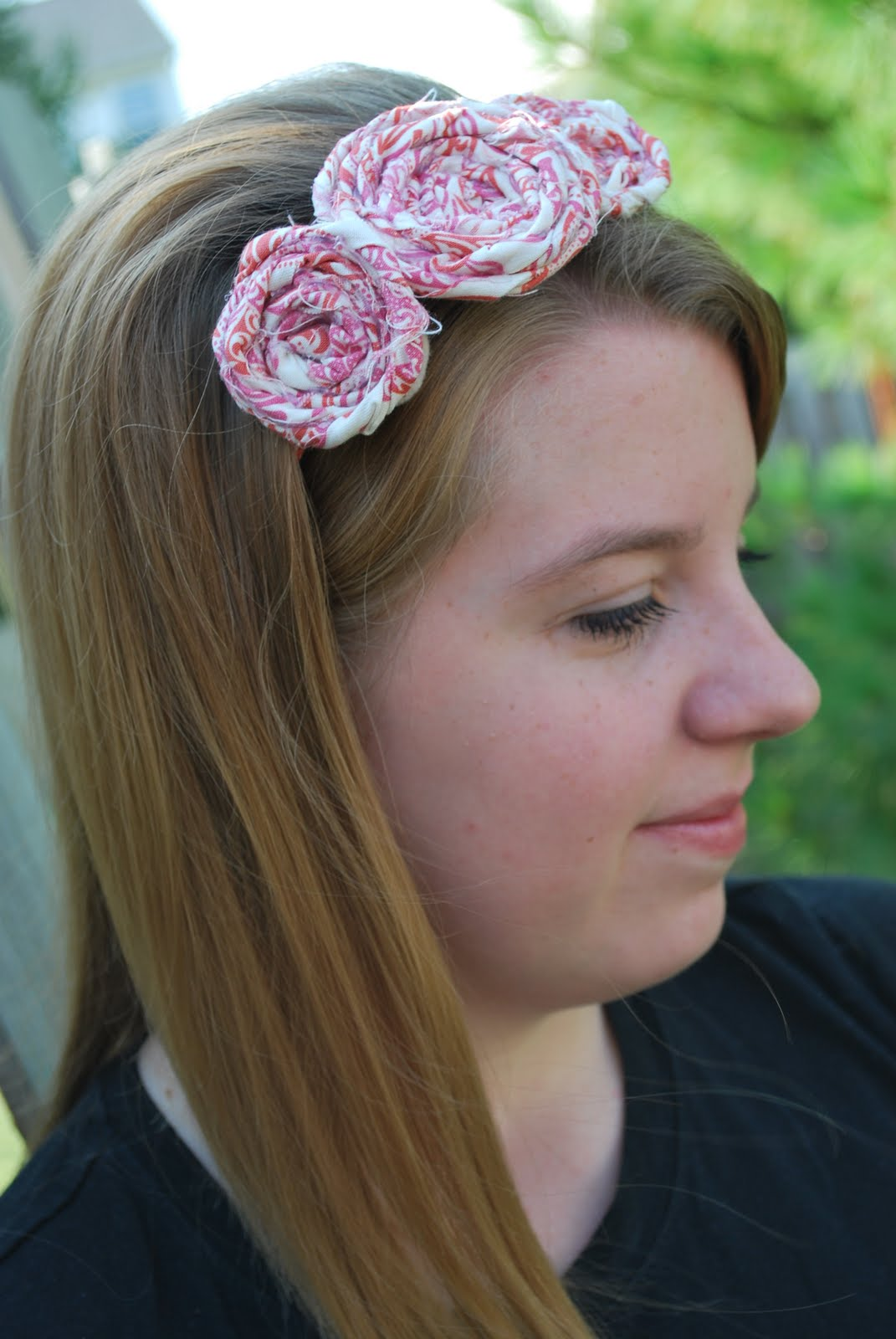 Larissa Another Day Fabric Flower Headband