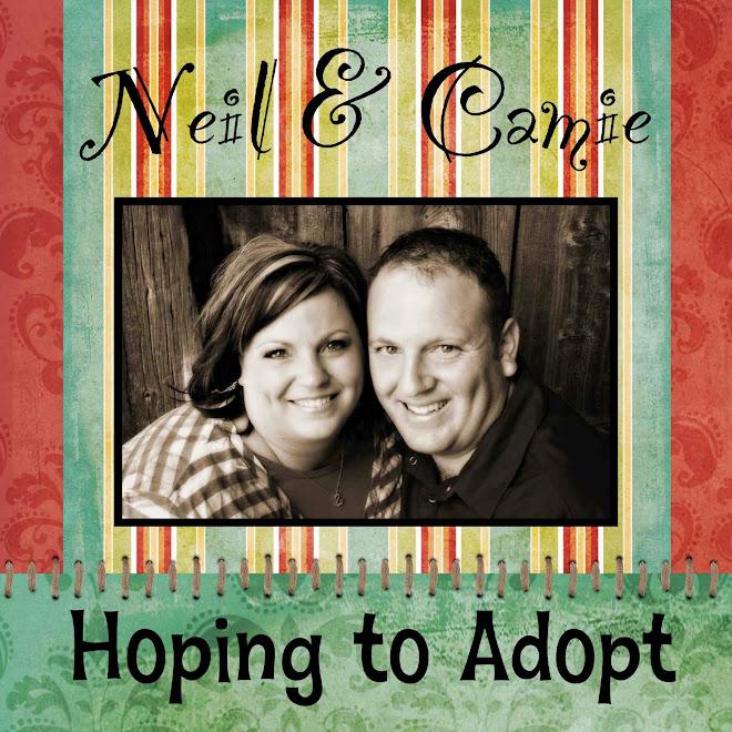 Neil and Camie Adoption Blog