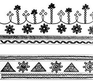 Chemistry Border Designs http://hemantborsen.blogspot.com/2009/10/warli-paintings-2.html