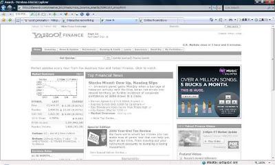 Yahoo music! interactive advertising game banner