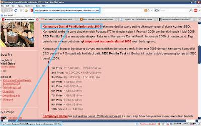 Kampanye Kopas Damai Pemilu Indonesia 2009