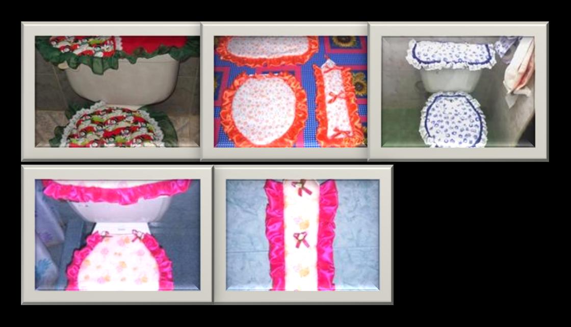 Creaciones albert manualidades para ba os - Manualidades de tela para el hogar ...