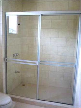 Secci n vidrier a puertas para ducha - Puerta corrediza para bano ...