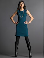 silhouettes dress tall boot