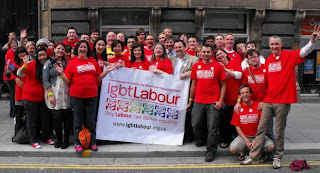 Labour Party at Liverpool Pride