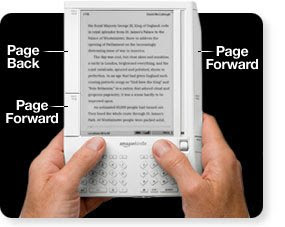 Kindle Ebook reader Design