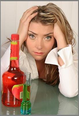 Alcohol Abuse Woman