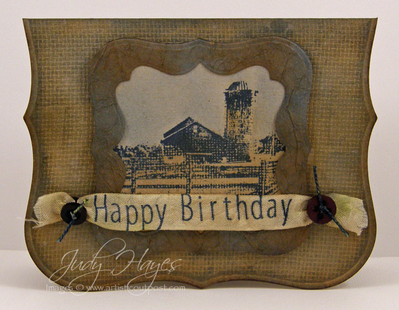 Artistic Outpost A Masculine Birthday Card – Masculine Birthday Card
